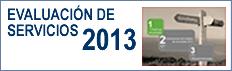 Evaluaci�n de servicios de la AEF 2013