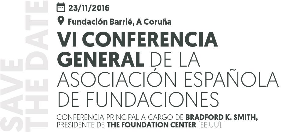 Ya puedes inscribirte en la VI Conferencia General de la AEF
