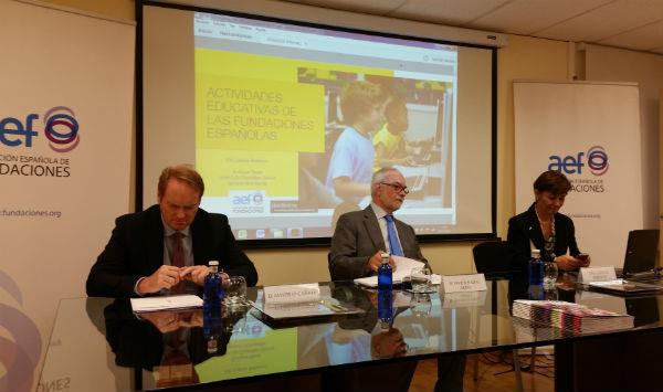 Las fundaciones españolas atienden anualmente a más de un millón de alumnos