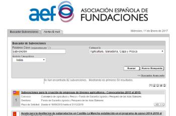 Ampliamos el servicio de información sobre ayudas públicas