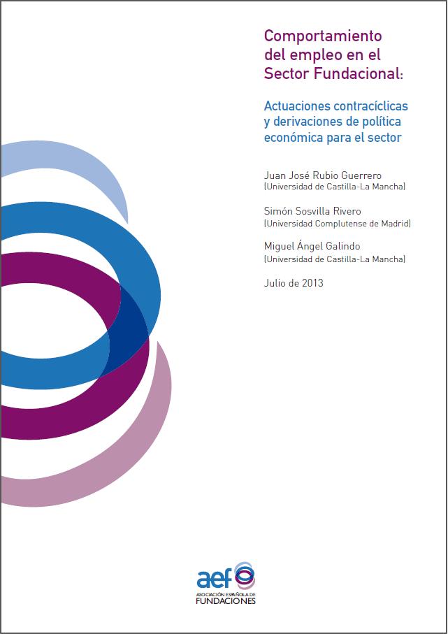 Comportamiento del empleo en el Sector Fundacional