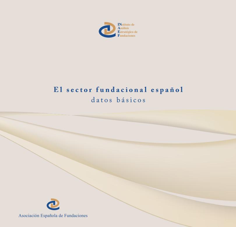 El sector fundacional español - Datos básicos