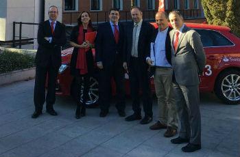 Renovamos el convenio con el Banco Santander