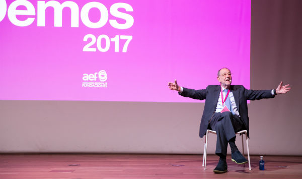Javier Solana estuvo con las fundaciones en Demos. ¿Recuerdas qué dijo?