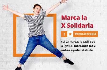 Renta 2017: Marca la @Xsolidaria y practica la #Rentaterapia