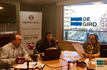 Fundación Recover, Premio AEF 2017, presenta su actividad en la radio