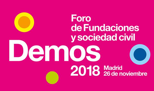 Te esperamos en Demos 2018: Foro de Fundaciones y Sociedad Civil