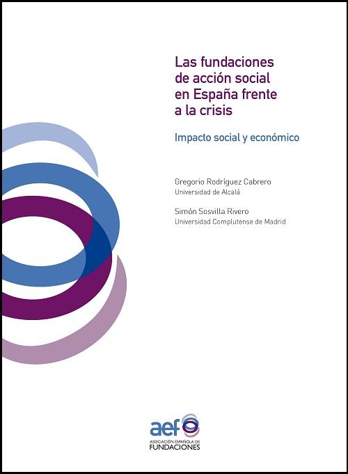 Las fundaciones de acción social en España frente a la crisis