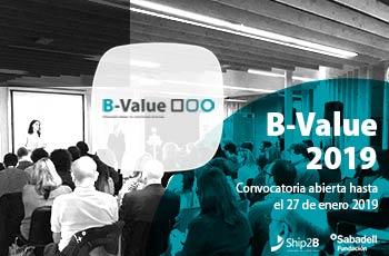 Convocatoria B-Value: últimos día para presentar candidaturas