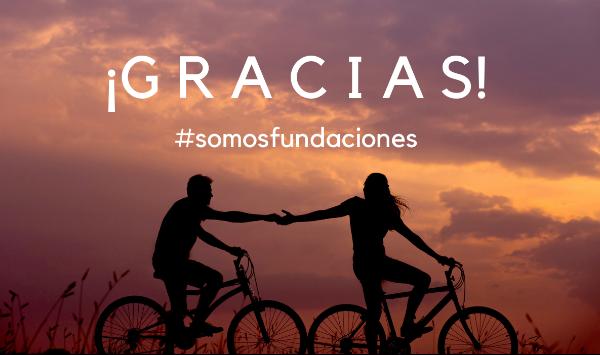 ¡Felicidades! Contigo, #somosfundaciones ha llegado a más de 7 millones de personas
