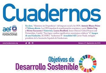 La revista Cuadernos centra su último número en los ODS