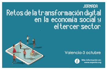 La transformación digital en la economía social y el tercer sector
