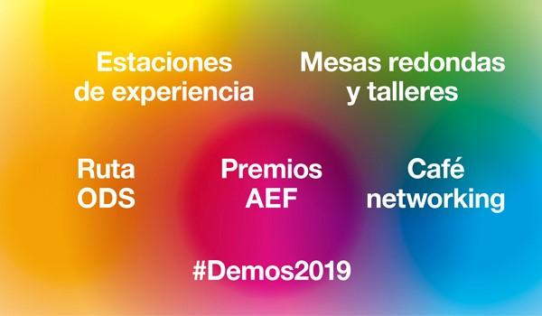 Disponible el programa de #Demos2019: contenidos, ponentes y horarios