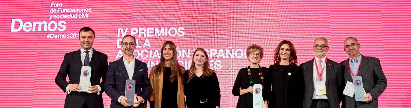 Premios AEF 2019 - Foto familia