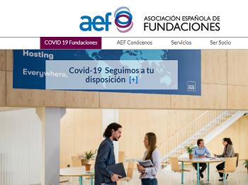 Nueva sección web: Covid-19 Fundaciones