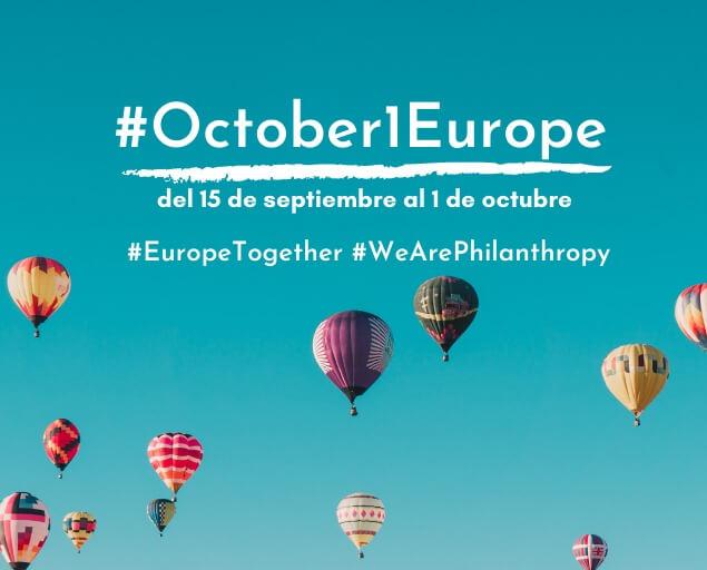 Únete a la fiesta de las fundaciones, al Día Europeo de Fundaciones y Donantes
