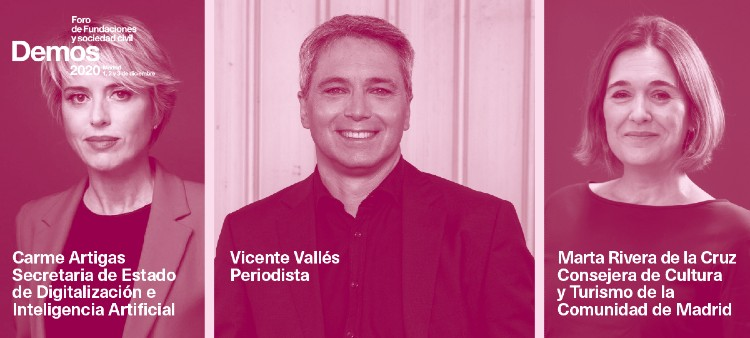 Vicente Vallés se une a #Demos2020