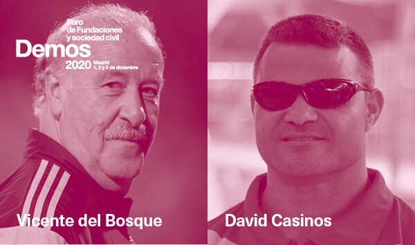 Vicente del Bosque se une a #Demos2020