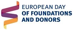 Logo Día Europeo de Fundaciones y Donantes